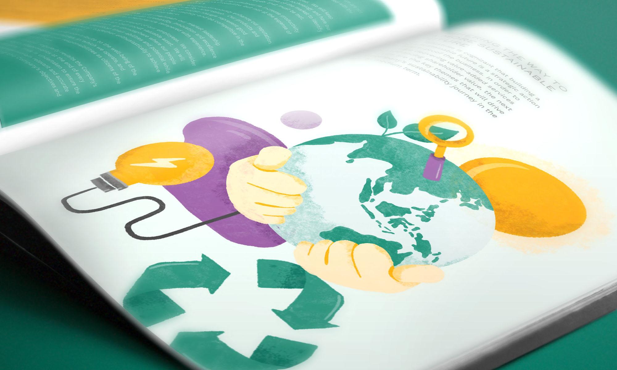 D&L Sustainability Report illustration